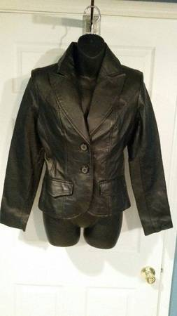 Photo Womens Dress Genuine Leather Jacket - $40 (Sterling)