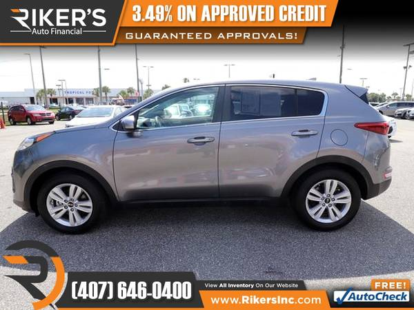 Photo $155mo - 2017 KIA Sportage LX - 100 Approved - $155 (Rikers Auto Financial)