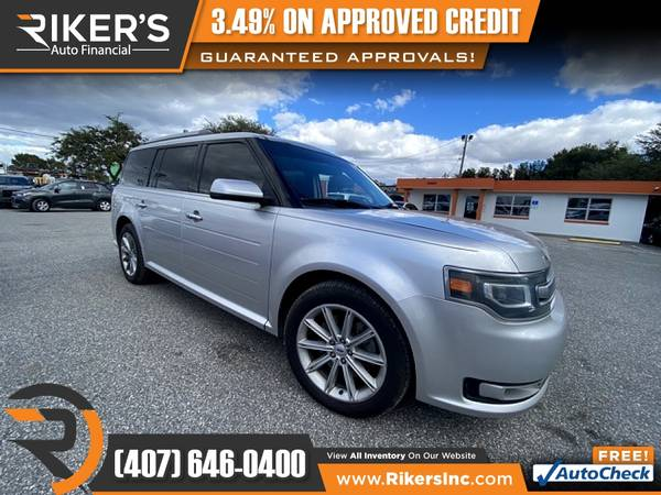Photo $158mo - 2014 Ford Flex Limited AWD - 100 Approved - $158 (Rikers Auto Financial)