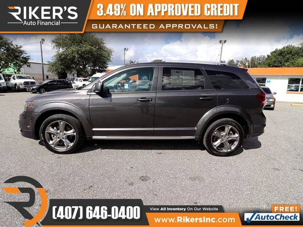 Photo $167mo - 2016 Dodge Journey Crossroad - 100 Approved - $167 (Rikers Auto Financial)
