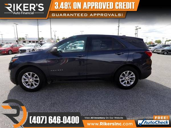 Photo $167mo - 2018 Chevrolet Equinox LS - 100 Approved - $167 (Rikers Auto Financial)