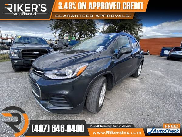 Photo $172mo - 2018 Chevrolet Trax LT - 100 Approved - $172 (Rikers Auto Financial)
