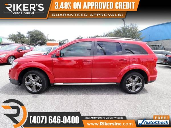 Photo $173mo - 2017 Dodge Journey Crossroad - 100 Approved - $173 (Rikers Auto Financial)