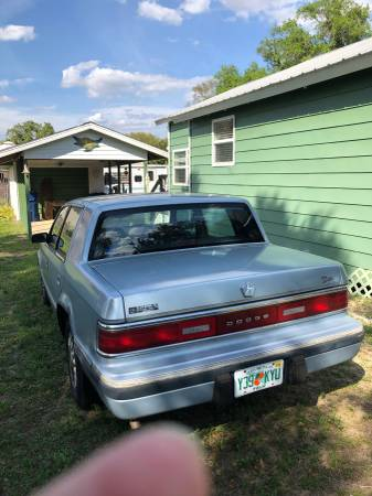 Photo 1993 Dodge Dynasty - $1200 (Frostproof)