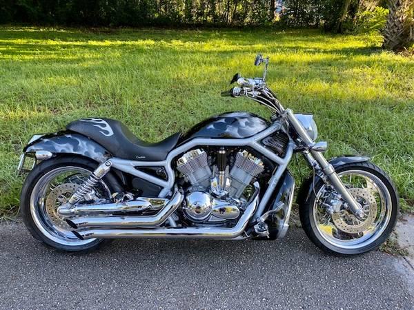 Photo 2003 Harley V Rod 100th Anniversary Edition Only 29k miles $11500 OBO - $11,500 (Orlando)