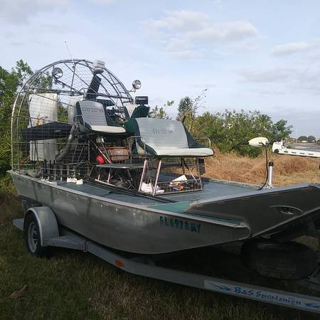 Photo 2005 EVJ 1739 AirBoat - $32700 (Cape Coral)