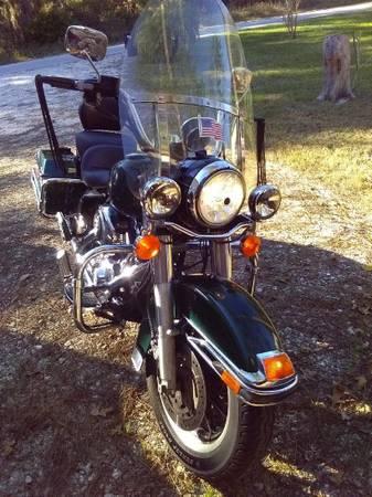 Photo 2005 Harley Davidson Road King Police - $6,000 (Lake Placid)