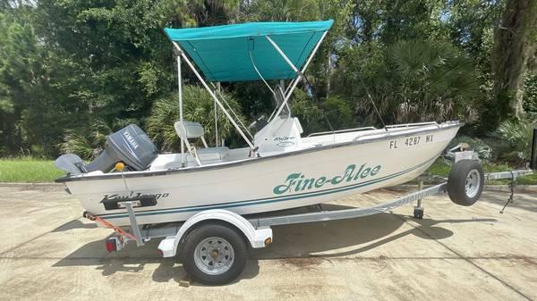 Photo 2005 Key Largo 160 Center Console Boat - $8,995 (Edgewater, FL)