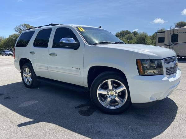 Photo 2011 Chevy Tahoe LT SUV 1-Owner Leather 3RD Row Tow Package Roof Rack - $13,600 (OKEECHOBEE)