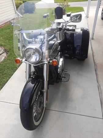 Photo 2011 Kawasaki wMotor Trike Conversion - $8,000 (Port Saint Lucie)