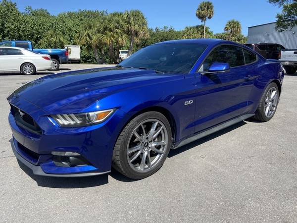 Photo 2015 Ford Mustang GT 5.0L V8 One Owner Leather Navigation Rear Camera - $25,500 (OKEECHOBEE)