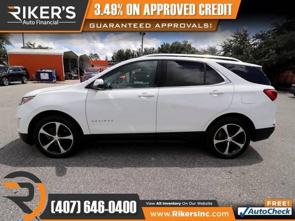 Photo $215mo - 2018 Chevrolet Equinox LT 2LT 2 LT 2-LT - 100 Approved - $215 (Rikers Auto Financial)