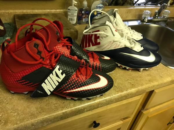 Photo 2 new MENS Nike Football cleats size 12 12 only $45 firm - $45 (Port Charlotte)