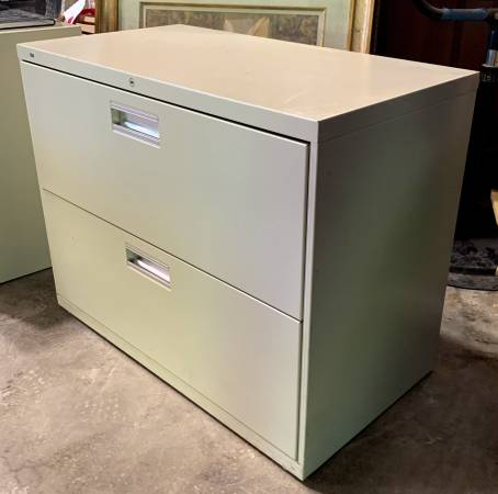 Photo 36quot Wide Hon Lateral Filing Cabinet W 2 Drawers - Used In Good Cond - $49 (Bonita Springs)