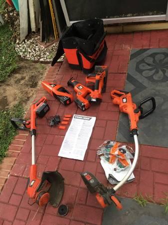 Photo 5 Black and decker tools. - $80 (Lake Placid)
