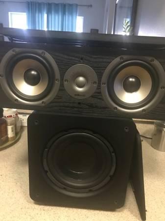 Photo 6 Polk Audio surround sound speakers or trade - $350 (riverview)