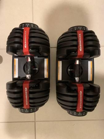 Photo BOWFLEX 52.5 Dumbbells -Pair - $550 (Lutz)