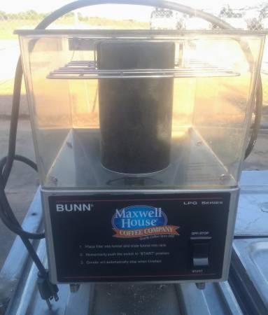 Photo Bunn LPG series commercial coffee grinder - $200 (Lake Wales)