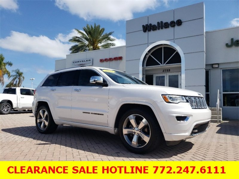 Photo Certified 2017 Jeep Grand Cherokee Overland for sale