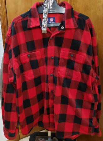 Photo Chaps Red and Black Flannel Snap Button Shirt 2XL - $25 (Spring Hill)