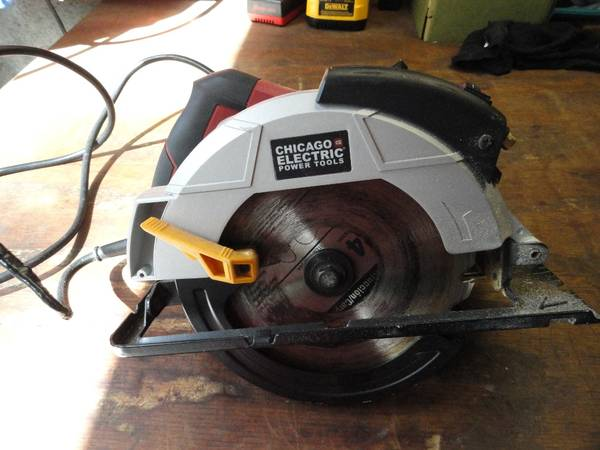 Photo Chicago Electric saw 7 14 12  - $15 (Valrico)