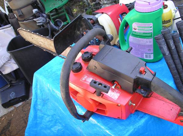 Photo Craftsman 3.7 18quot Chain Saw with hard case - $25 (St Petersburg)