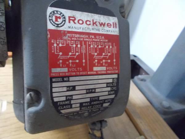 Photo Delta  Rockwell Radial Arm Saw - $375 (Avon Park)
