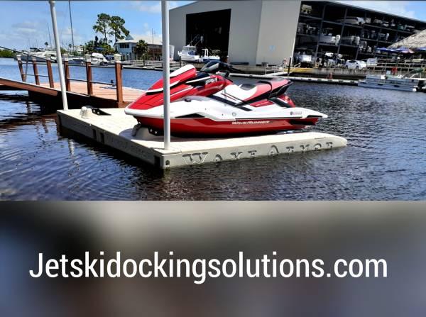 Photo Floating Jet Ski Docks Boat Docks WAVE ARMOR - $1,899 (Hudson)