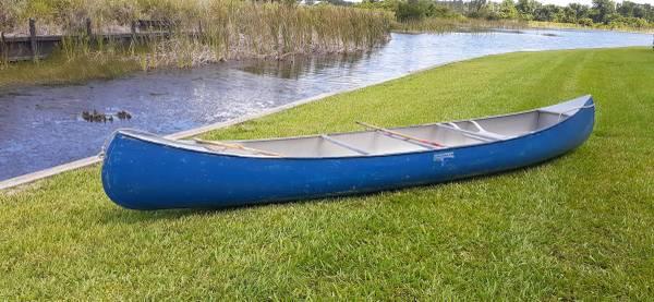 Photo Grumman 15 ft. Canoe .050 Aluminum - $1,500 (Lake Placid)