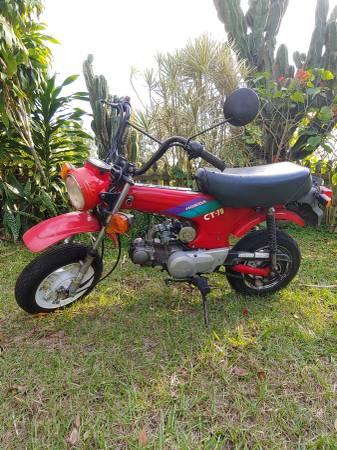Photo Honda CT 70 - $1500 (Sebring)
