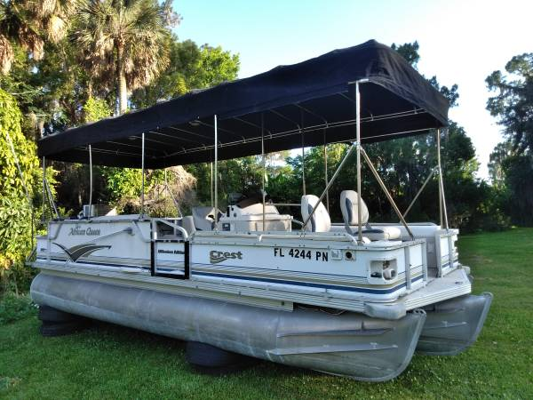 Photo I buy Pontoon boats, pontoon trailers, any condition (all central florida, will travel)