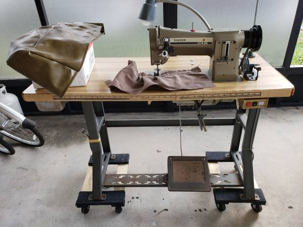 Photo Industrial Singer Sewing Machine - $600 (Winter Haven)