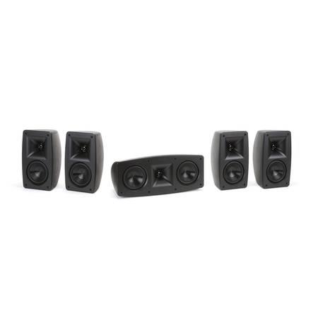 Photo Klipsch Quintet 5.0 Home Theater Speaker System, Powered Subwoofer (Largo)