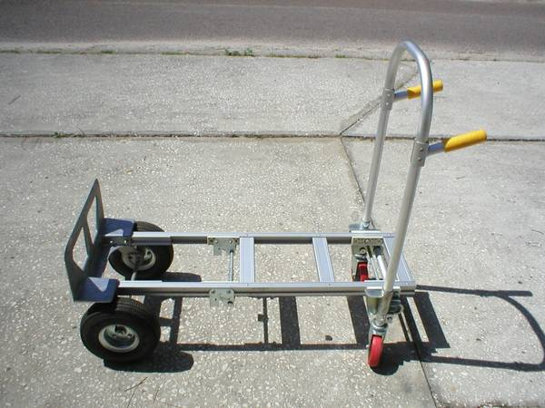 Photo LIKE NEW SPARTON BY WESCO 2 IN 1 CONVERTIBLE ALUMINUM HAND TRUCK - $140 (AUBURNDALE)
