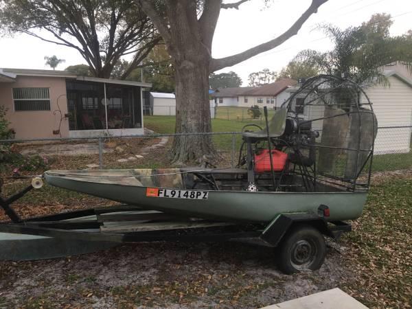 Photo Mini Airboat - $1800 (Sebring)