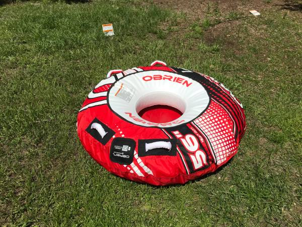 Photo New PULL BEHIND BOAT TUBE ONLY $50 firm - $50 (Port Charlotte)