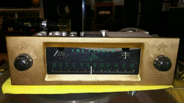 Photo Old school fisher tube tuner - $59 (port st lucie)