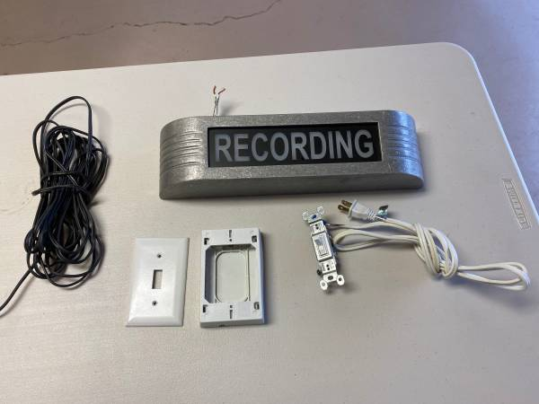 Photo Recording Studio Sign - $100 (Sebring)