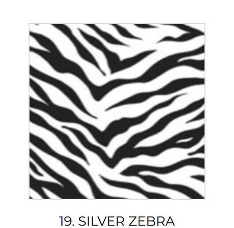 Photo SILVER ZEBRA Foil Heat Transfer Film vinyl Heat press htv003030 - $15 (Ta)