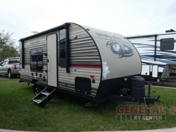 Photo Travel Trailer 2018 Forest River RV Cherokee Wolf Pup 16FQ - $13,781