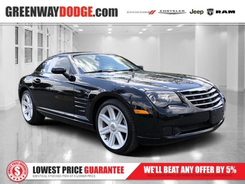 Photo Used 2007 Chrysler Crossfire Coupe for sale