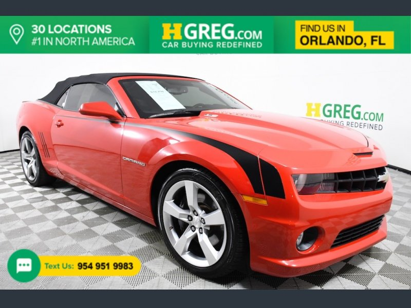 Photo Used 2012 Chevrolet Camaro SS Convertible for sale