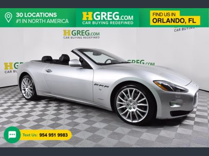 Photo Used 2014 Maserati GranTurismo Convertible for sale