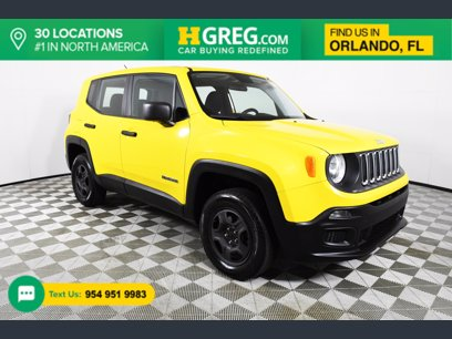 Photo Used 2016 Jeep Renegade 4WD Sport w Power  Air Group for sale