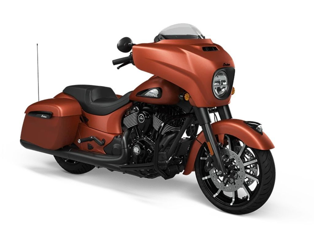 Photo 2021 Indian Motorcycle Chieftain Dark Horse Icon Burnt Orange Metallic Smoke $29749