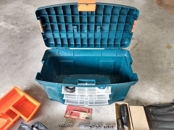 Photo 136 Part Tool Set with Tool Box - $75 (Tuscola)