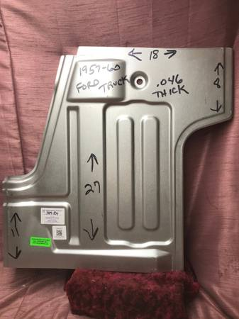 Photo 1957-60 Ford Truck Floorpans - $165 (Chaign)