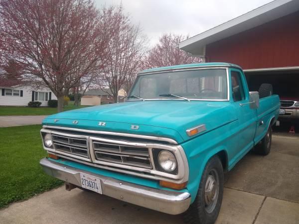 Photo 1972 Ford F250 - $3600 (Danville)