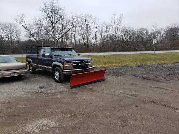 Photo 1993 Chevrolet Silverado 2500 Diesel Long Bed with Snow Plow - $2700 (Danville)