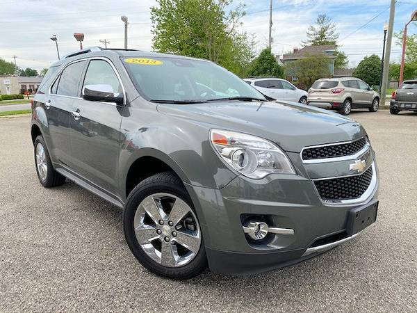 Photo 2013 Chevy Equinox LTZ AWD-1Owner-Like New - $13,997 (($239 Per Month With Approved Credit-Warranty Included))